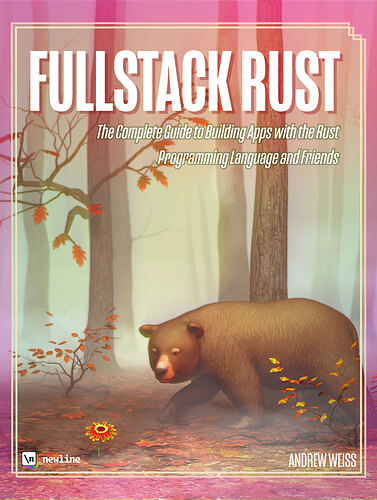 Fullstack Rust book