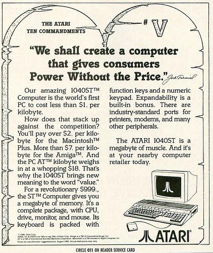Atari Ten Commandments